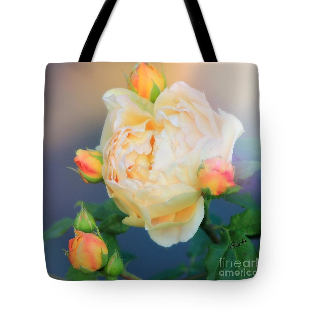 Roses Tote Bag featuring the photograph Gloria by Sharon Johnston