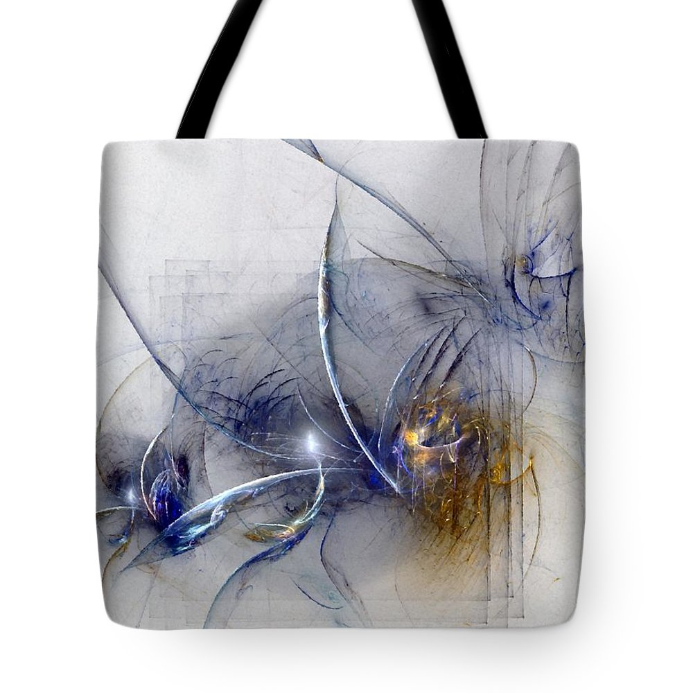 Glory Tote Bag featuring the digital art Glorifying The Vision by NirvanaBlues