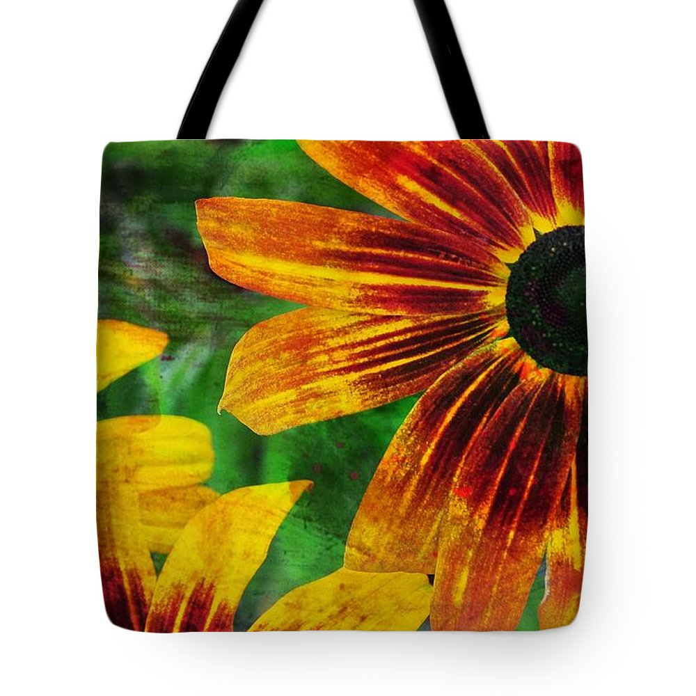 Flower Tote Bag featuring the photograph Gloriosa Daisy by JAMART Photography