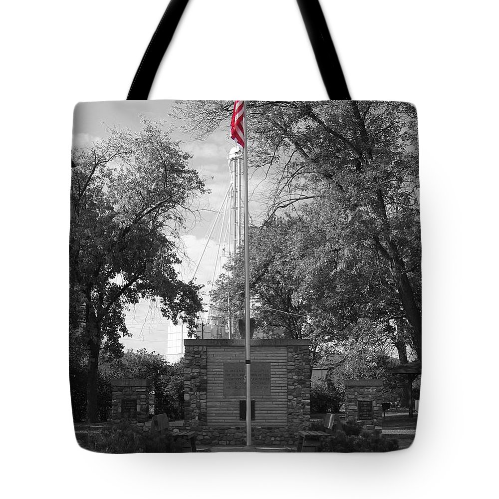 American Tote Bag featuring the photograph Glory by Dylan Punke