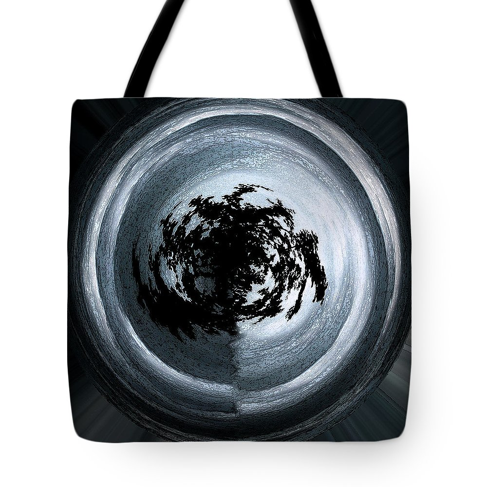 Abstract Tote Bag featuring the photograph Glowing Act by Mykel Davis