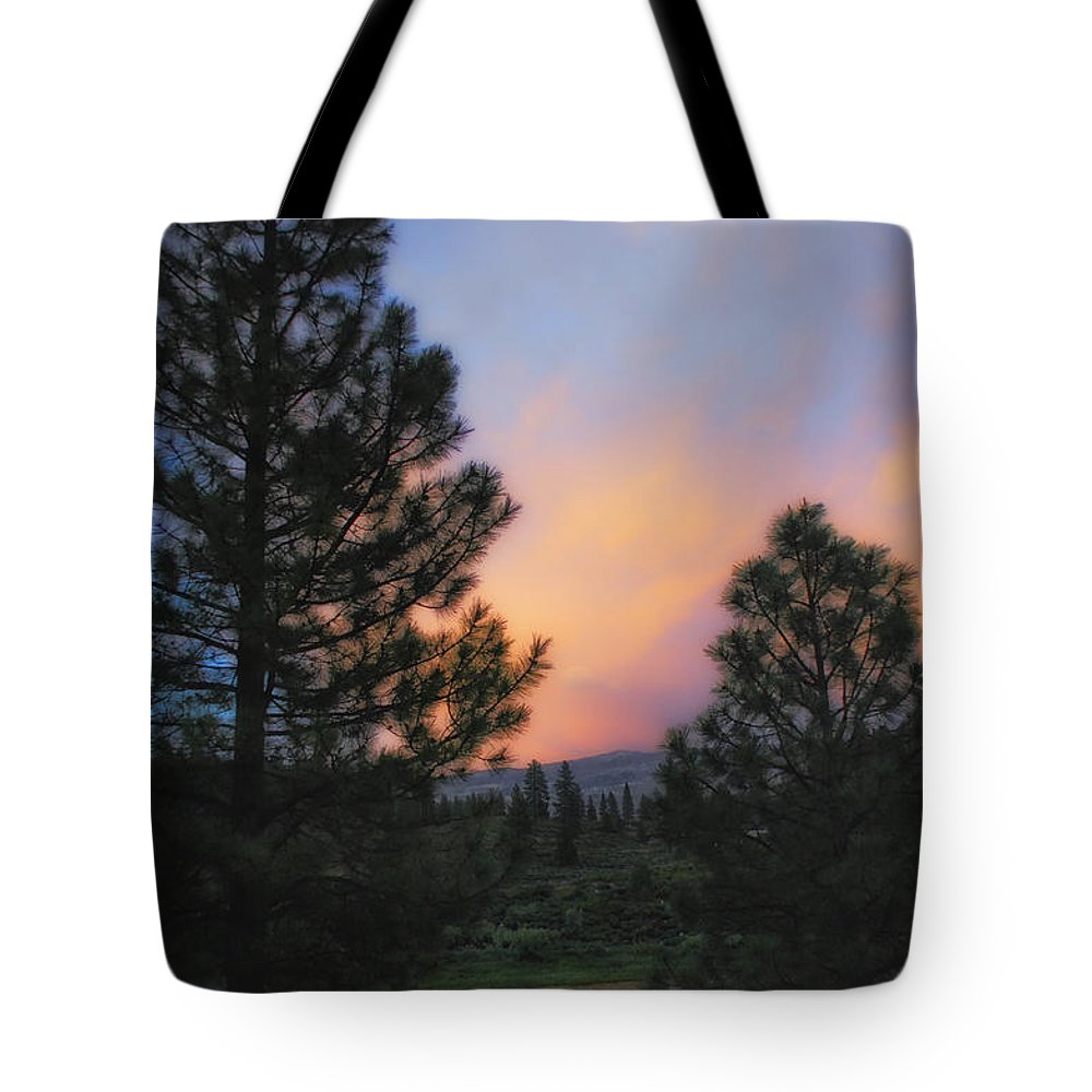 Landscape Tote Bag featuring the photograph Go Softly Into The Night by Donna Blackhall
