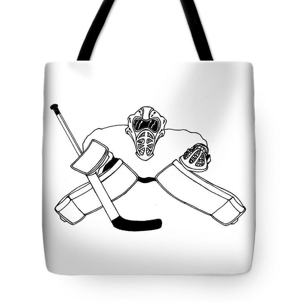 Goalie Equipment Tote Bag