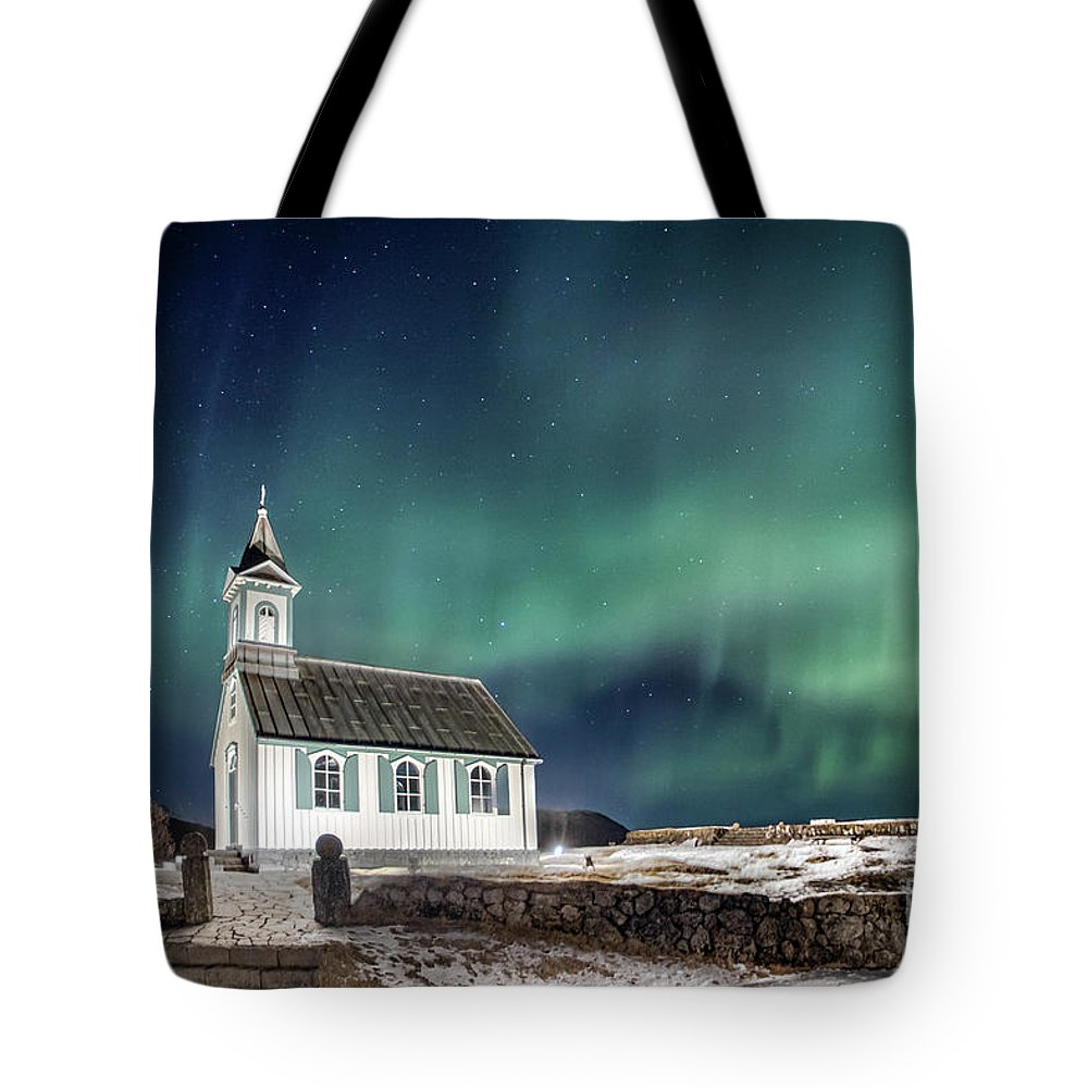Kremsdorf Tote Bag featuring the photograph Gods by Evelina Kremsdorf