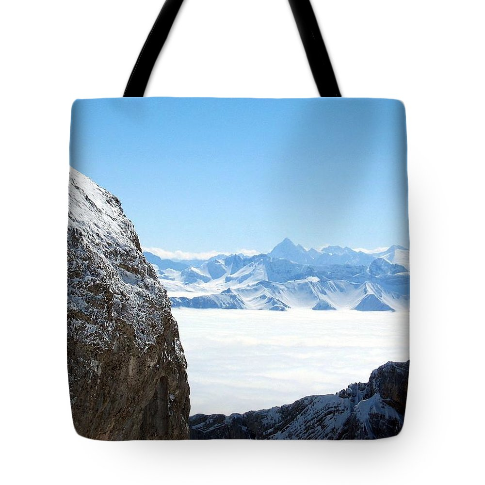 Landscape Tote Bag featuring the photograph God's Window by Dylan Punke