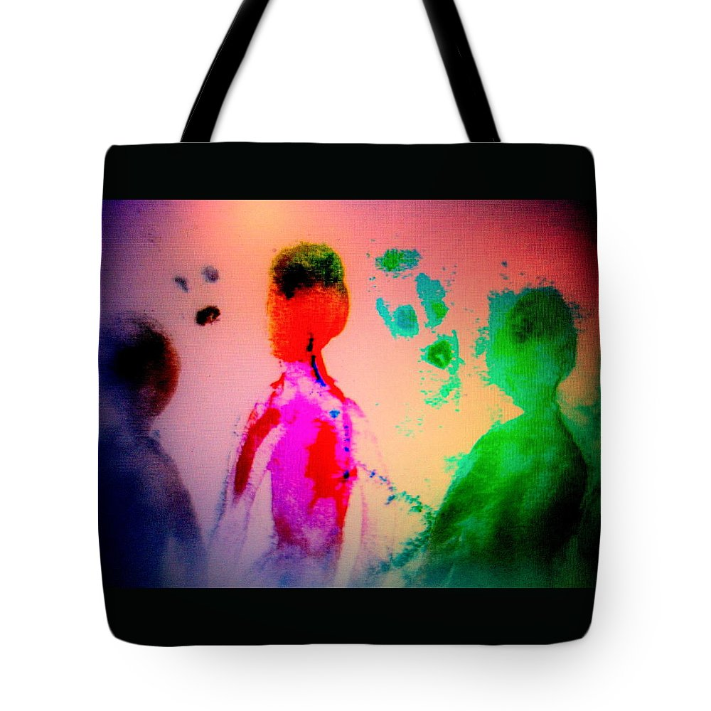 Horse Tote Bag featuring the painting One Of These Nights We Will Be Going To Another Nachspiel Together by Hilde Widerberg