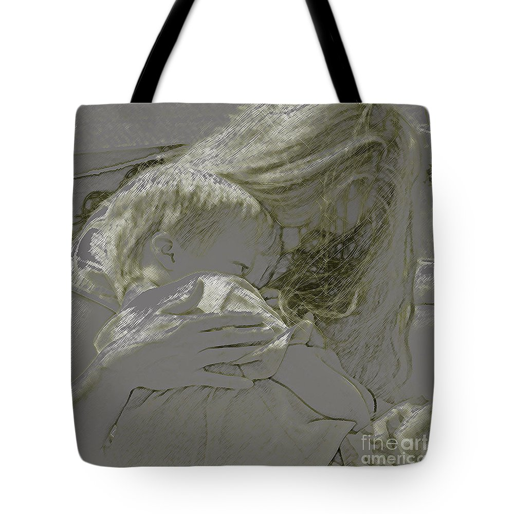 Child Tote Bag featuring the photograph Golden by Gary Everson