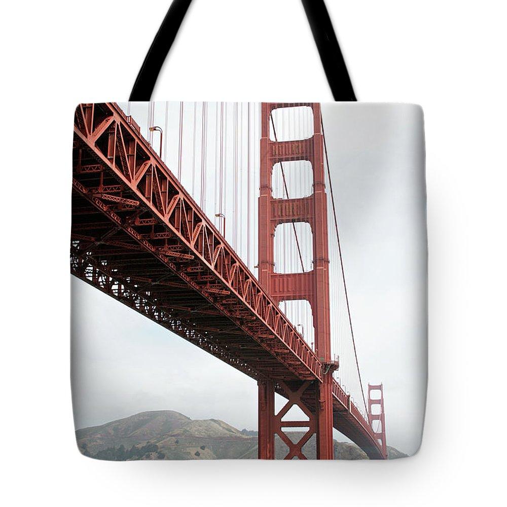 Golden Gate Bridge Tote Bag featuring the photograph Golden Gate Bridge by Masha Batkova