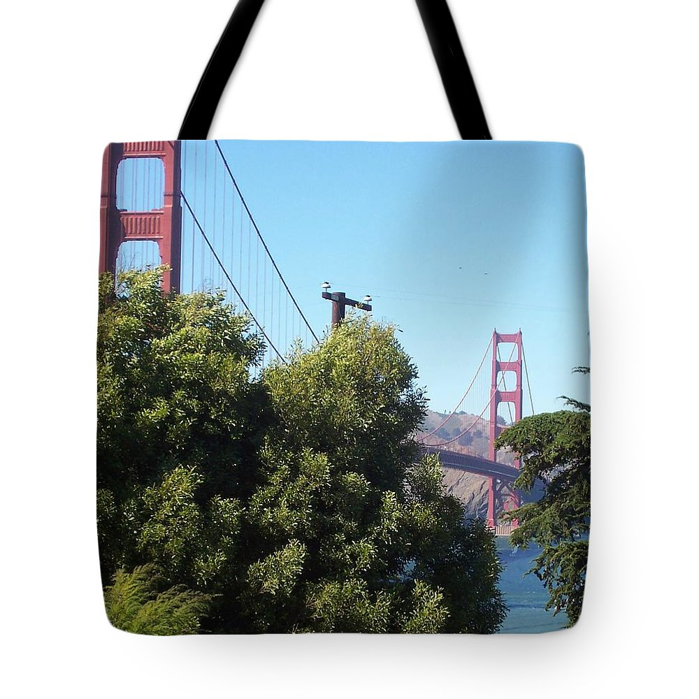 Golden Gate Bridge Tote Bag featuring the photograph Golden Gate by Elizabeth Klecker