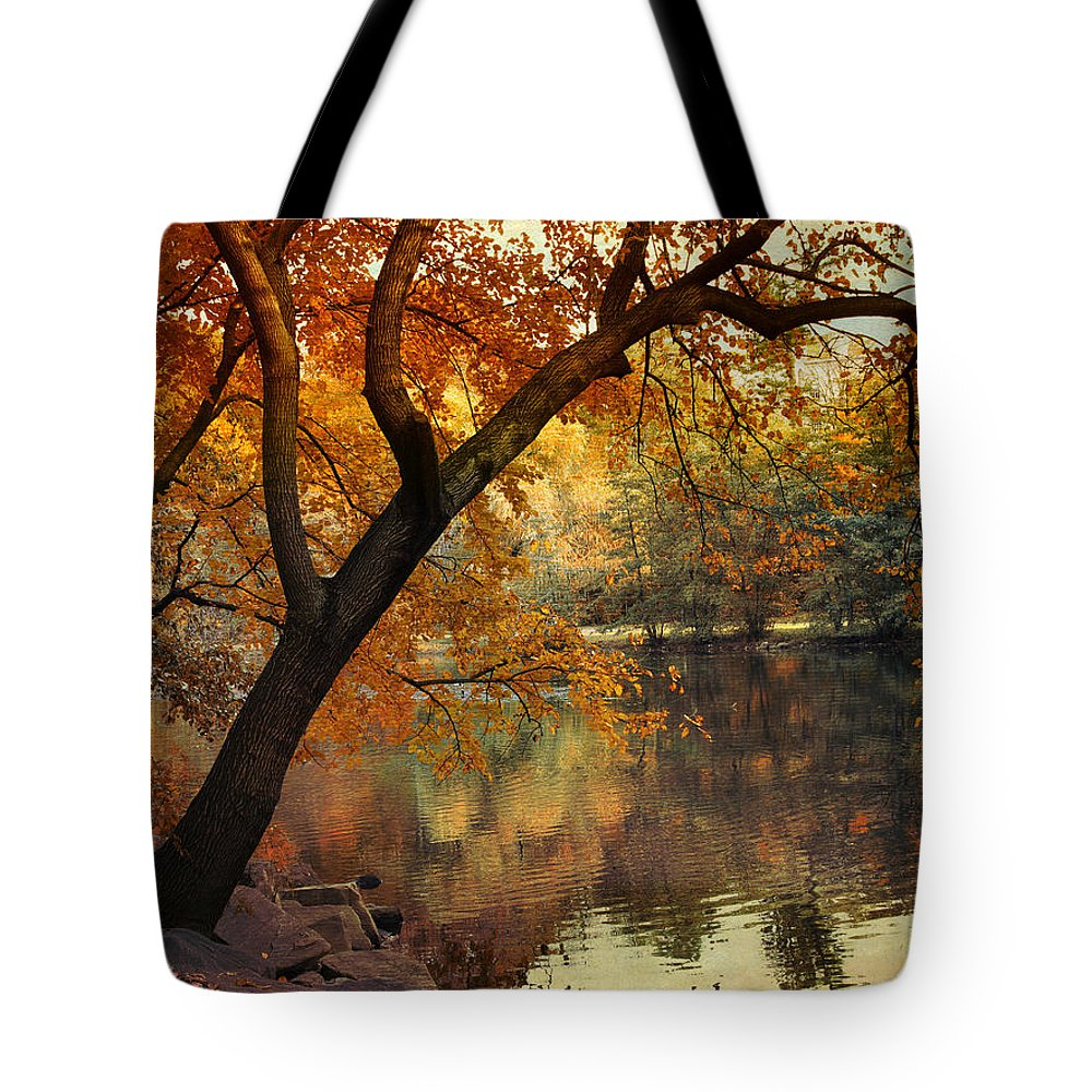 Nature Tote Bag featuring the photograph Golden Slumber by Jessica Jenney