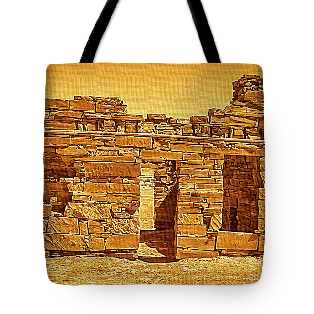 Mona Stut Tote Bag featuring the photograph Golden Times by Mona Stut