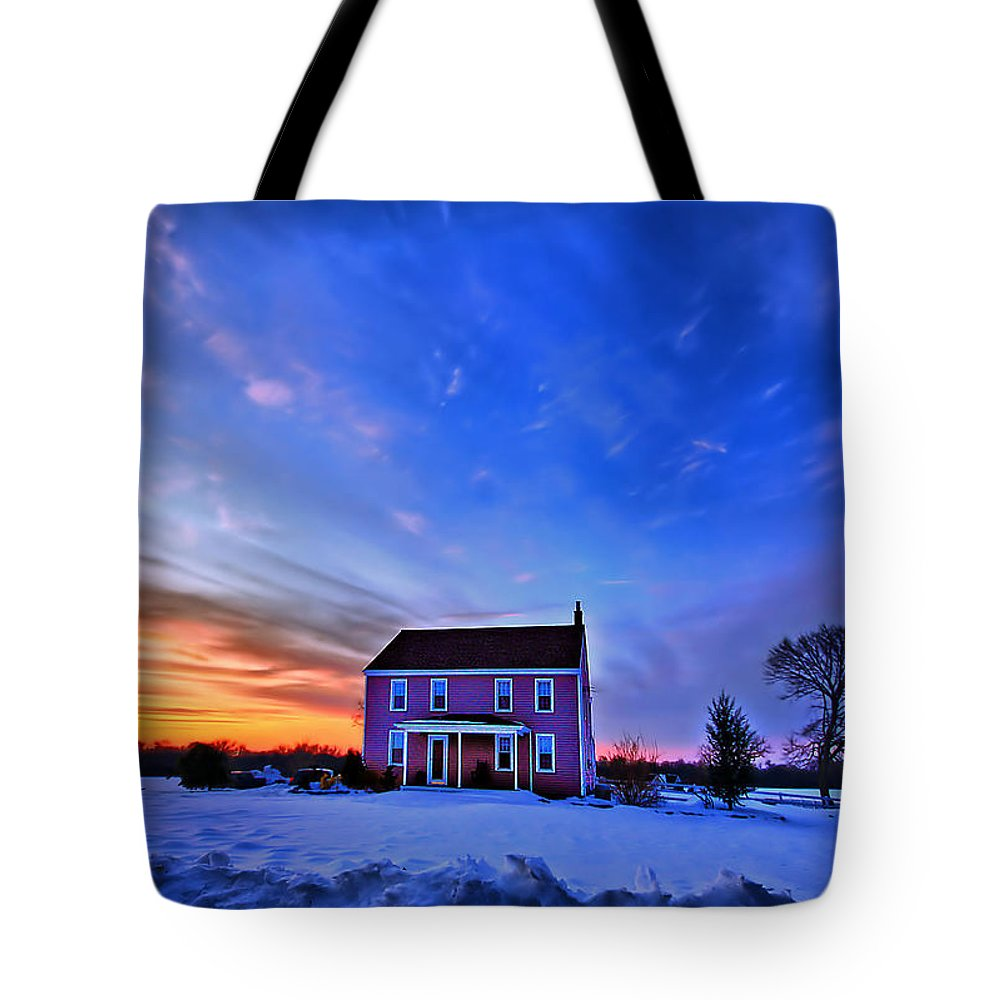 Cloud Tote Bag featuring the photograph Golden Touch by Evelina Kremsdorf