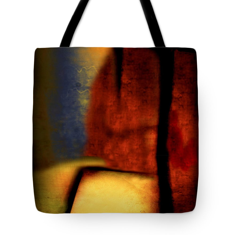 Golf Tote Bag featuring the painting Golf by Jill English