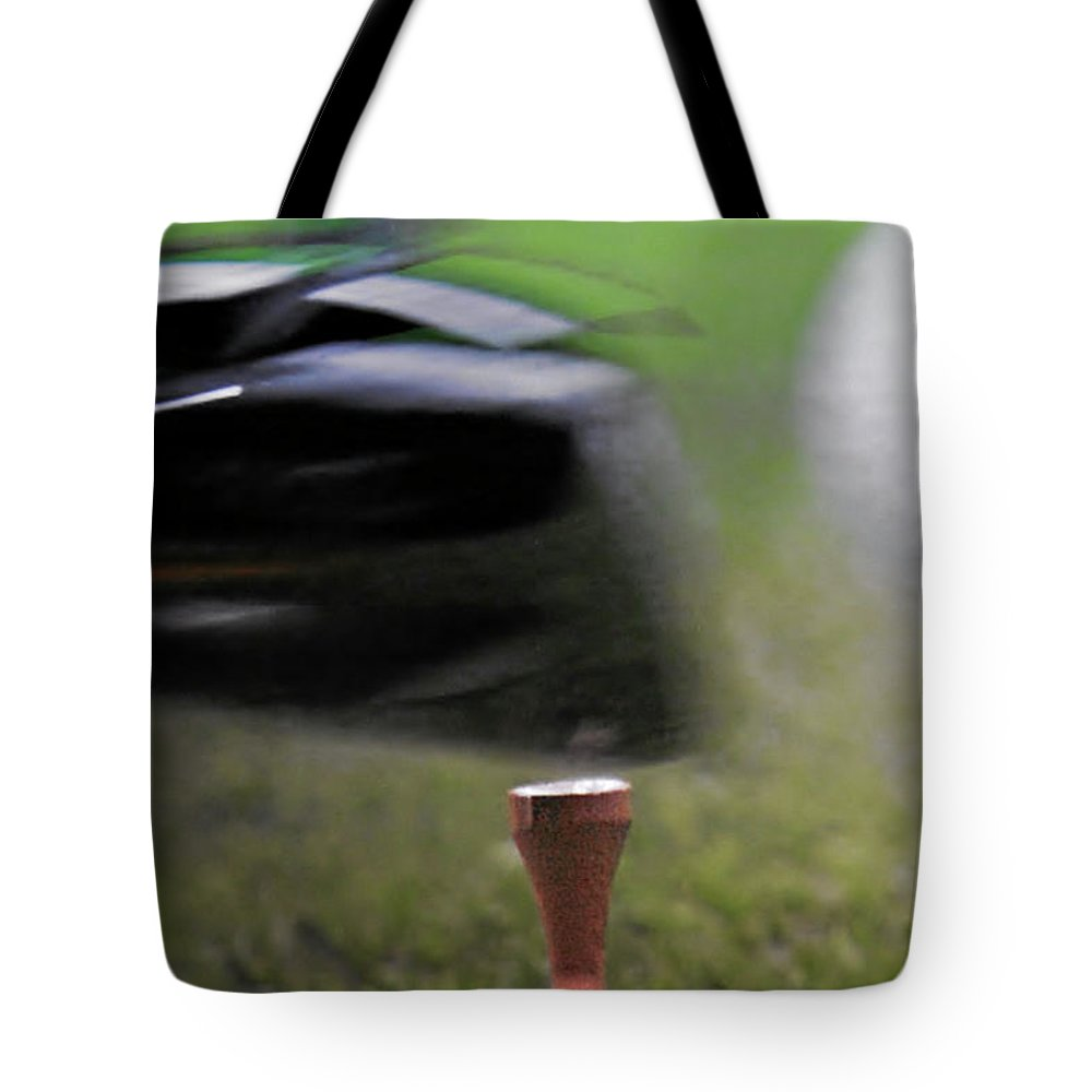 Golf Tote Bag featuring the photograph Golf Sport Or Game by Christine Till