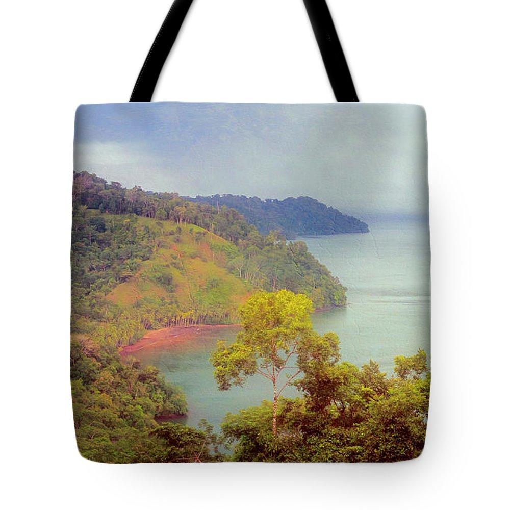Joan Carroll Tote Bag featuring the photograph Golfo Dulce Costa Rica by Joan Carroll