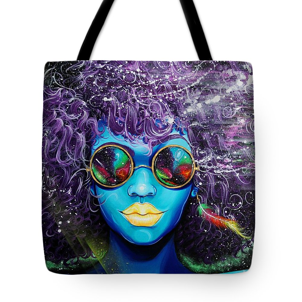 Feather Stars Tote Bags