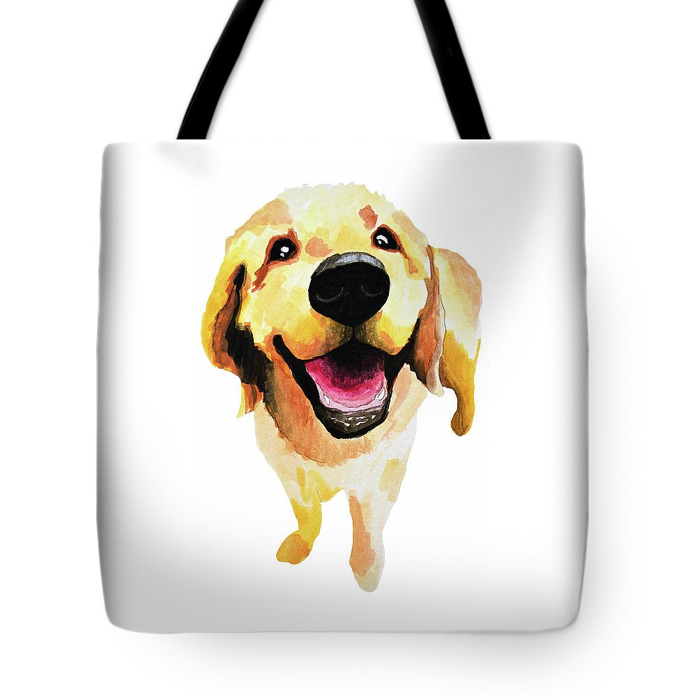 Dog Tote Bag featuring the painting Good Boy by Amy Giacomelli