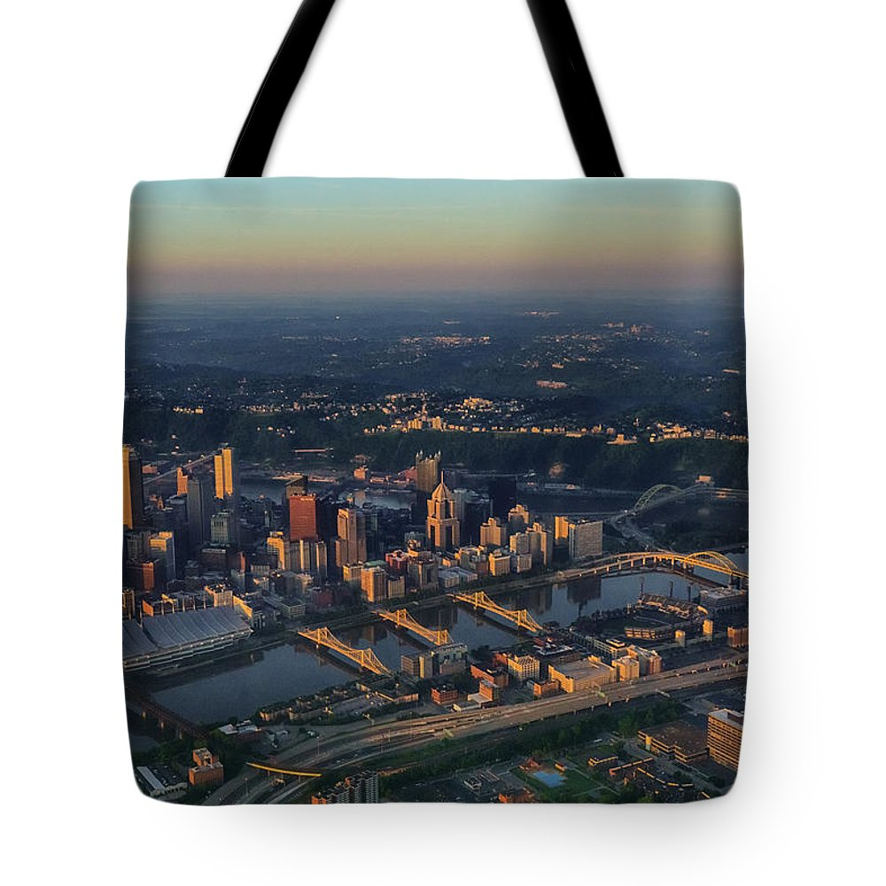 Pittsburgh Tote Bag featuring the photograph Good Morning by Amanda Jones