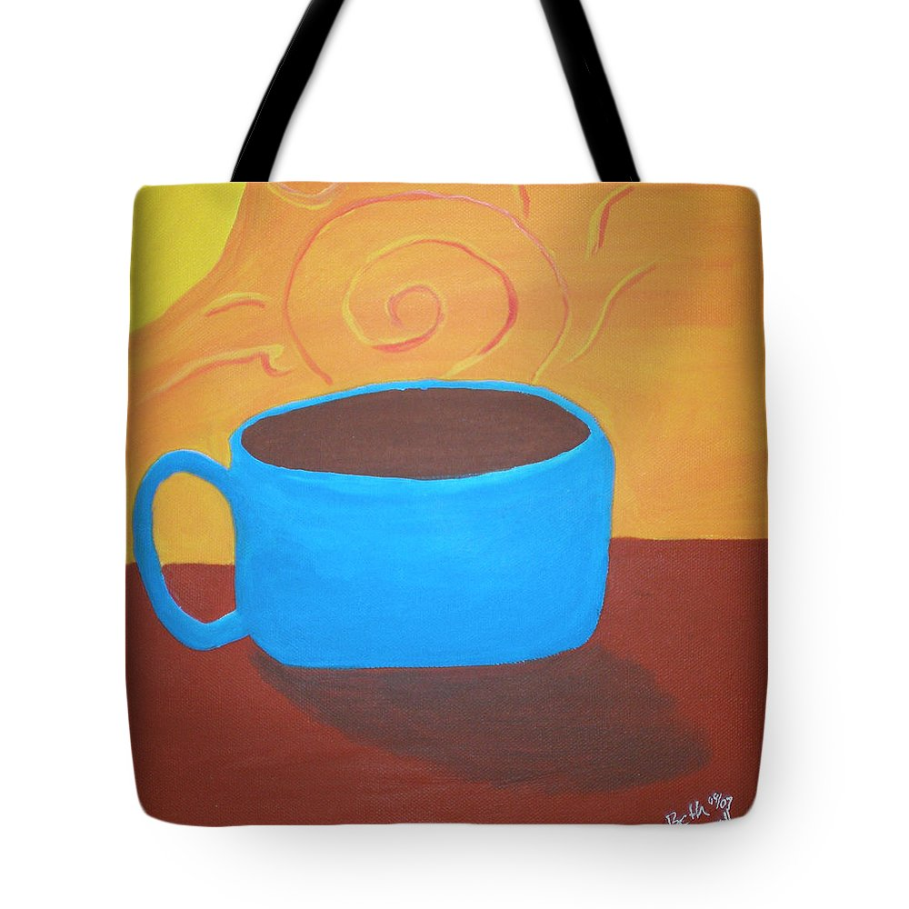 Good Morning Sunshine Tote Bag featuring the painting Good Morning Sunshine by Beth Cornell
