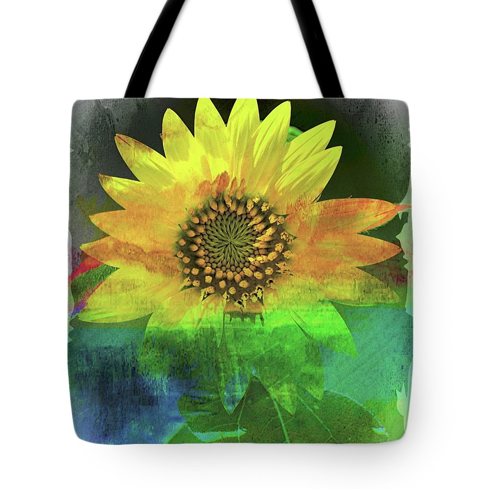 Sunflower Tote Bag featuring the photograph Good Morning Sunshine by Sheri McLeroy