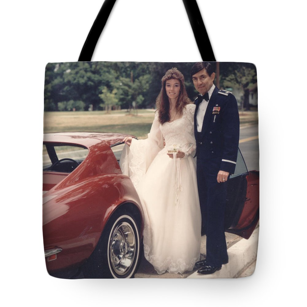 Wedding Tote Bag featuring the photograph Goodbye by John Graziani