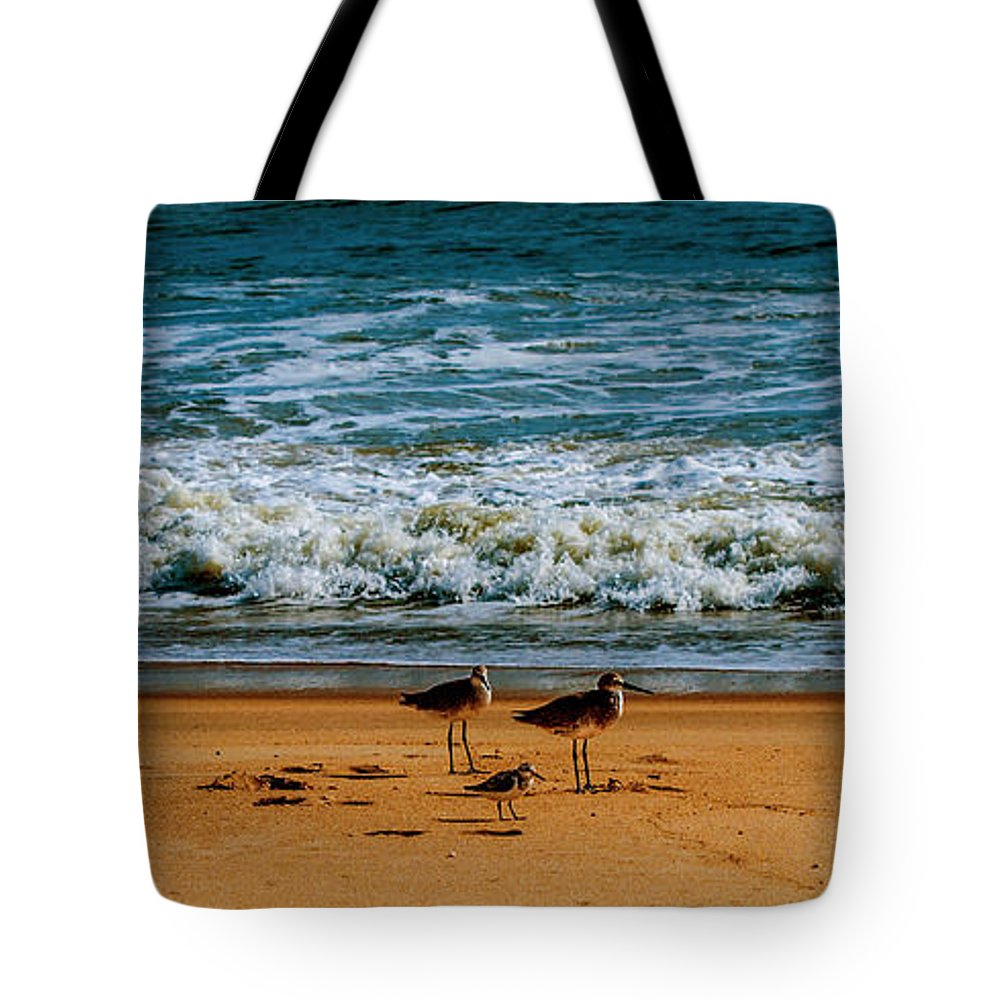 Good Fellows Framed Prints Tote Bag featuring the photograph Goodfellas by John Harding