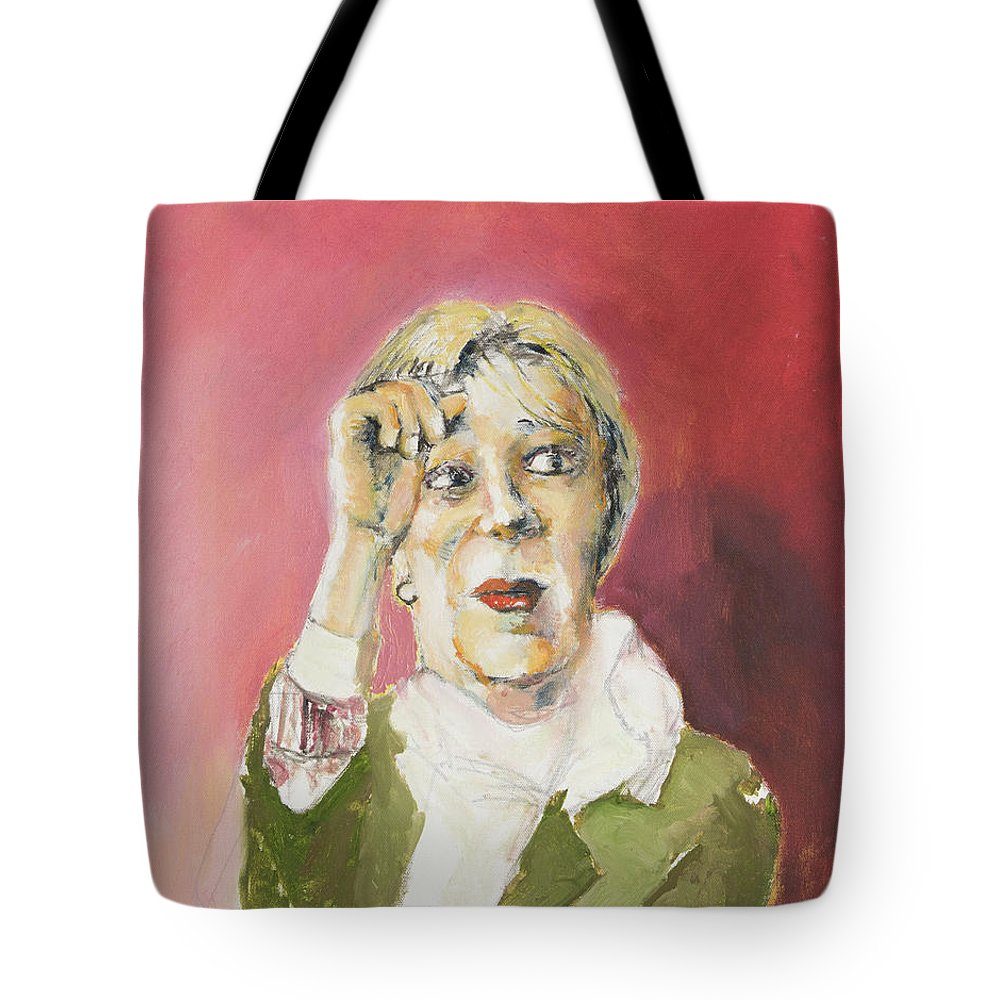 Woman Tote Bag featuring the painting Goodness by Craig Newland