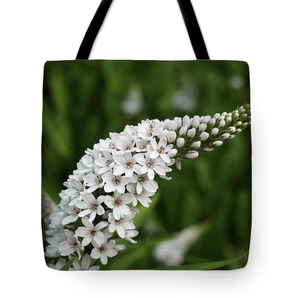 Flower Tote Bag featuring the photograph Goose Neck by Kevin Vautrinot