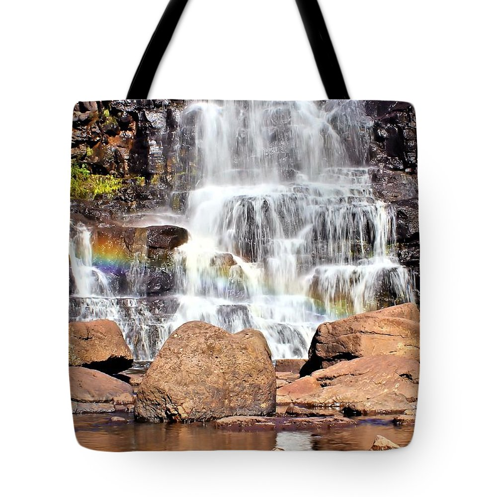 Gooseberry Falls Tote Bag featuring the photograph Gooseberry Falls 7 by Jimmy Ostgard