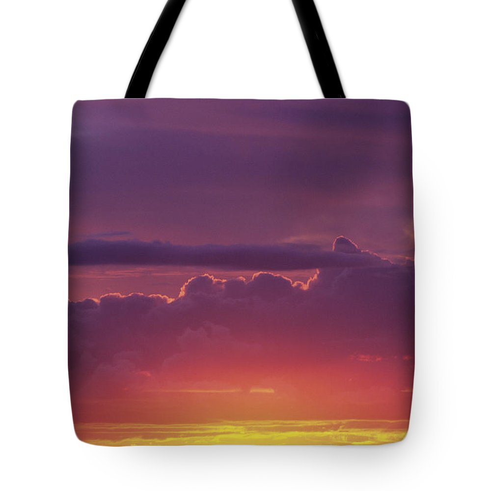 Afternoon Tote Bag featuring the photograph Gorgeous Sunset by Carl Shaneff - Printscapes