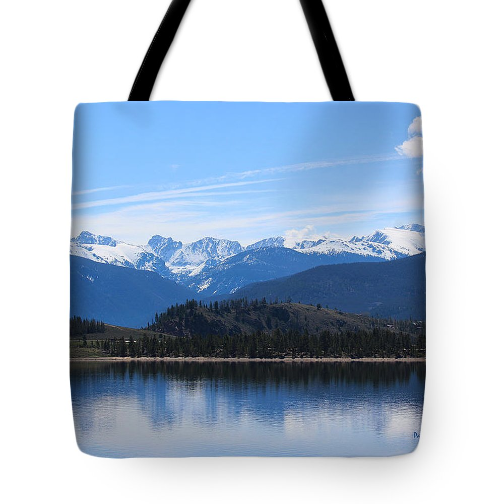Granby Lake Tote Bag featuring the photograph Granby Lake by Pat McGrath Avery