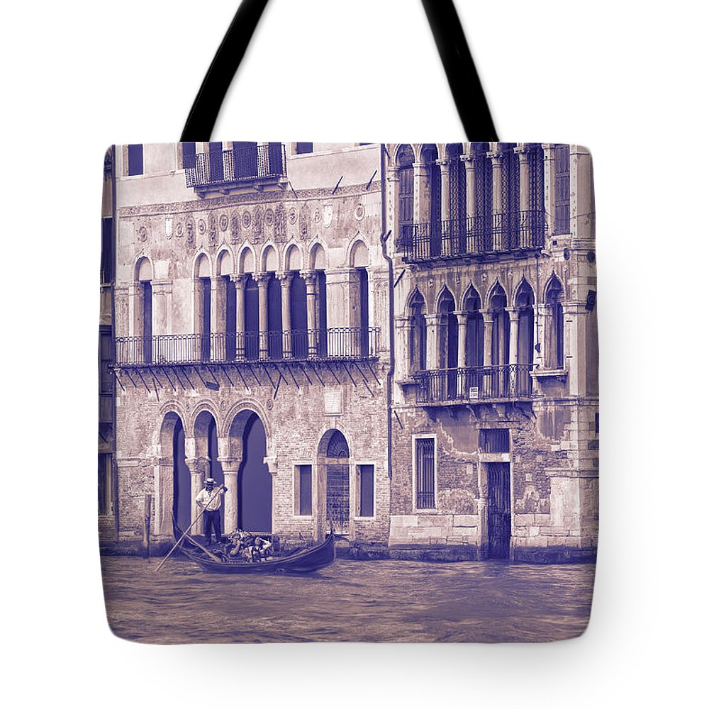 Grand Canal Tote Bag featuring the photograph Grand Canal 2. Venice Italy by George Robinson