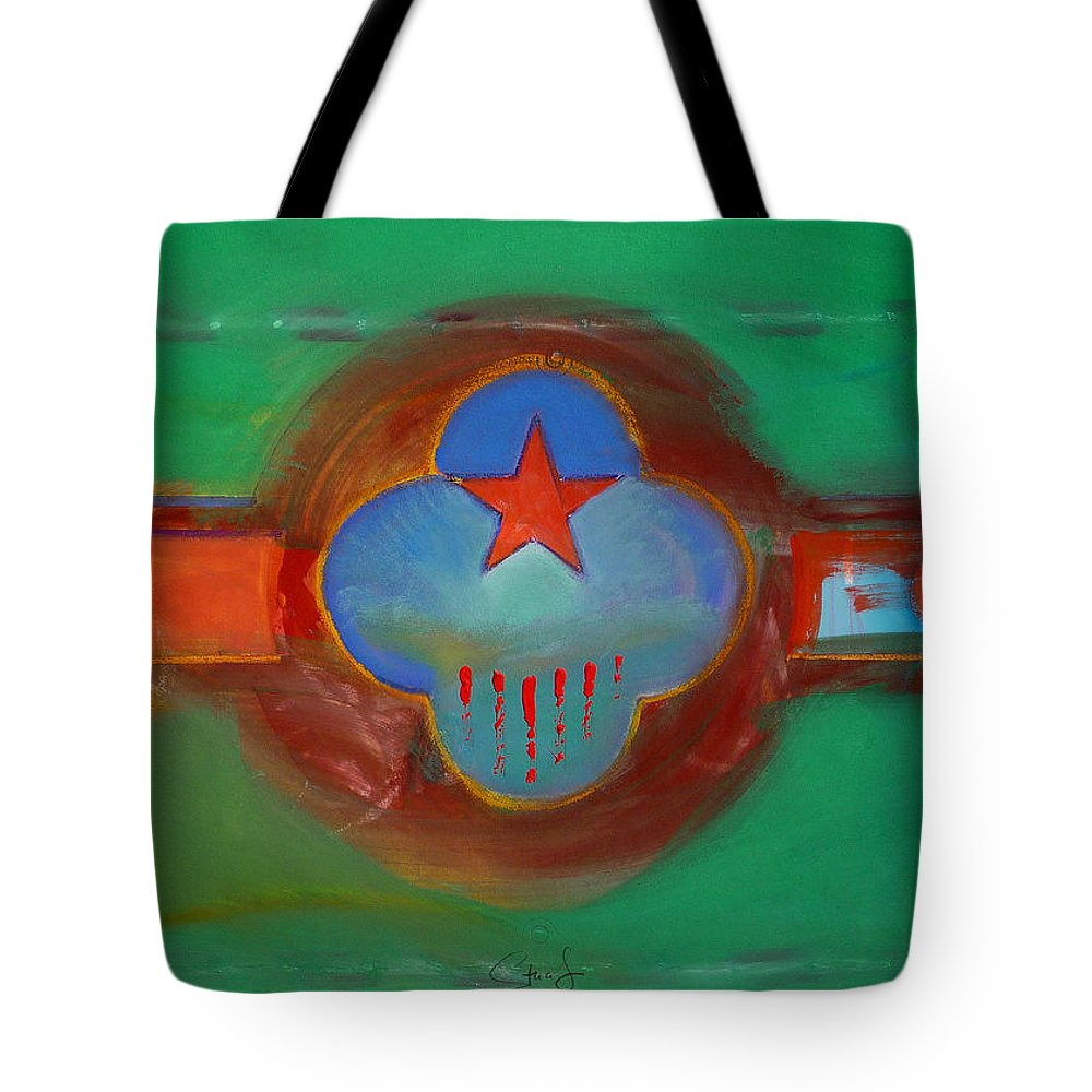 Star Tote Bag featuring the painting Grand Canal by Charles Stuart
