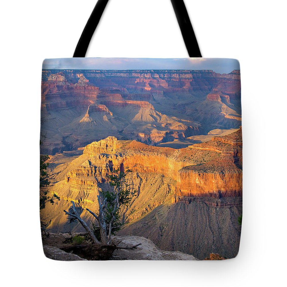 Southwest Usa Tote Bag featuring the photograph Grand Canyon At Sunset by Alan Toepfer