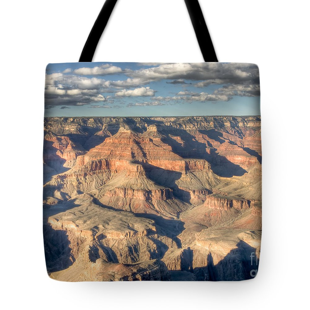Clarence Holmes Tote Bag featuring the photograph Grand Canyon Hopi Point by Clarence Holmes