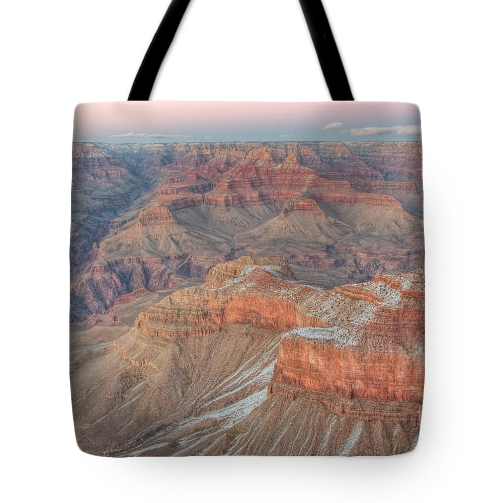 Clarence Holmes Tote Bag featuring the photograph Grand Canyon Mather Point II by Clarence Holmes