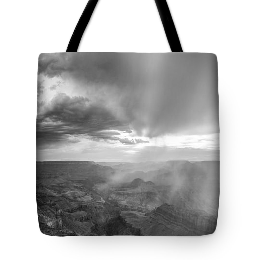 Grand Canyon Tote Bag featuring the photograph Grand Canyon Sunset by John McGraw