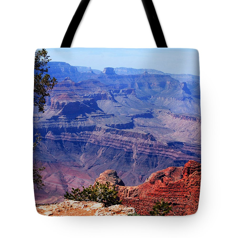 Photography Tote Bag featuring the photograph Grand Canyon View by Susanne Van Hulst