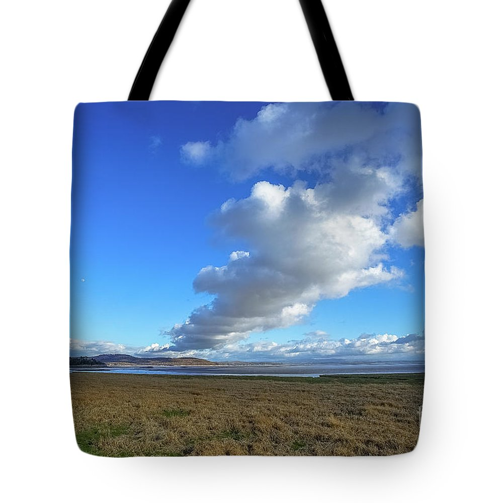 Travel Tote Bag featuring the photograph Grange-over-sands by Maria Costello