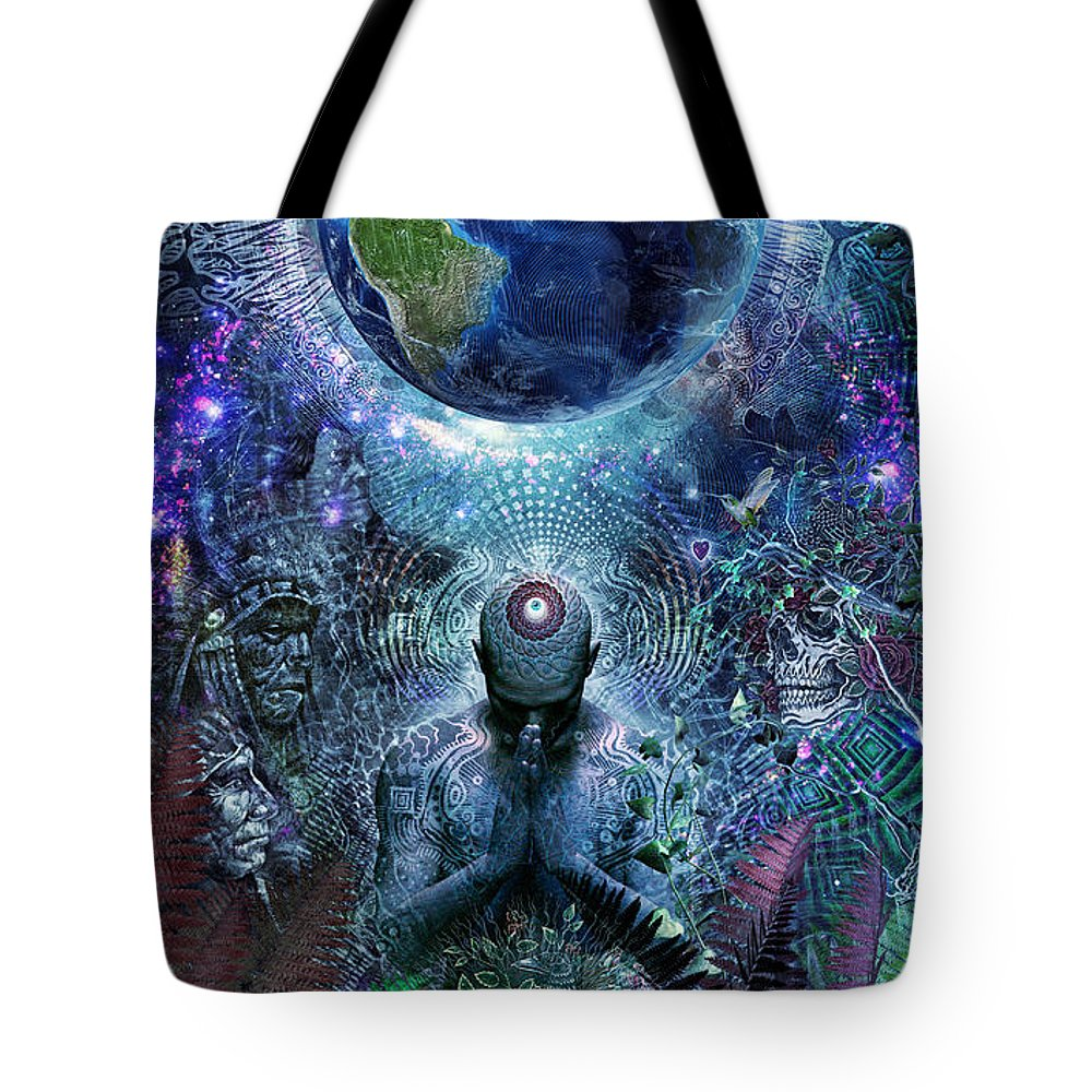 New Trend Digital Art Tote Bags