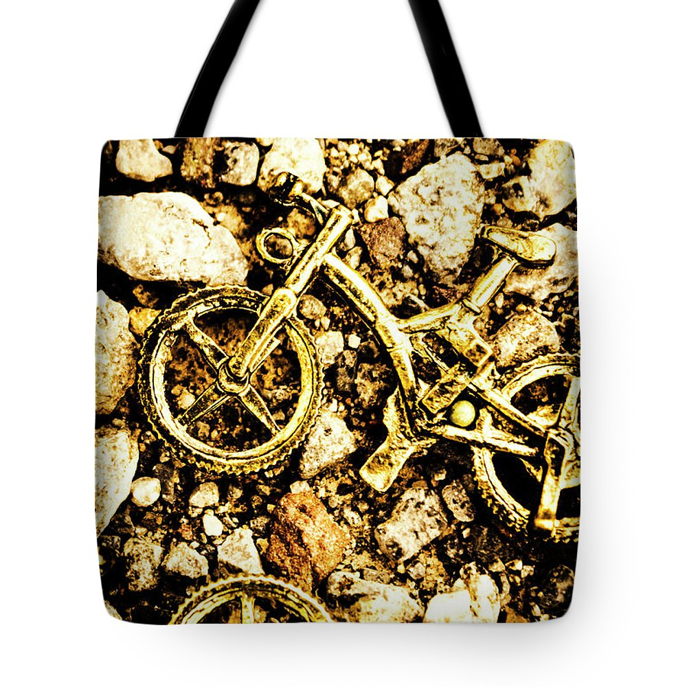Bike Tote Bag featuring the photograph Gravel Bikes by Jorgo Photography - Wall Art Gallery
