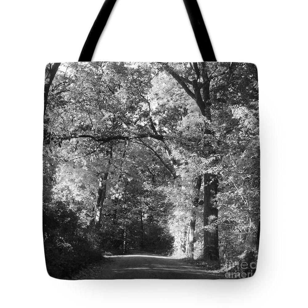 Back Tote Bag featuring the photograph Graves Rd by September Stone