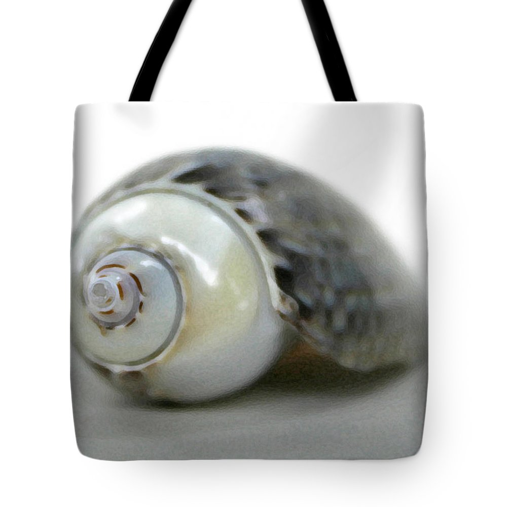 Shells Tote Bag featuring the photograph Graysnail by Mary Haber