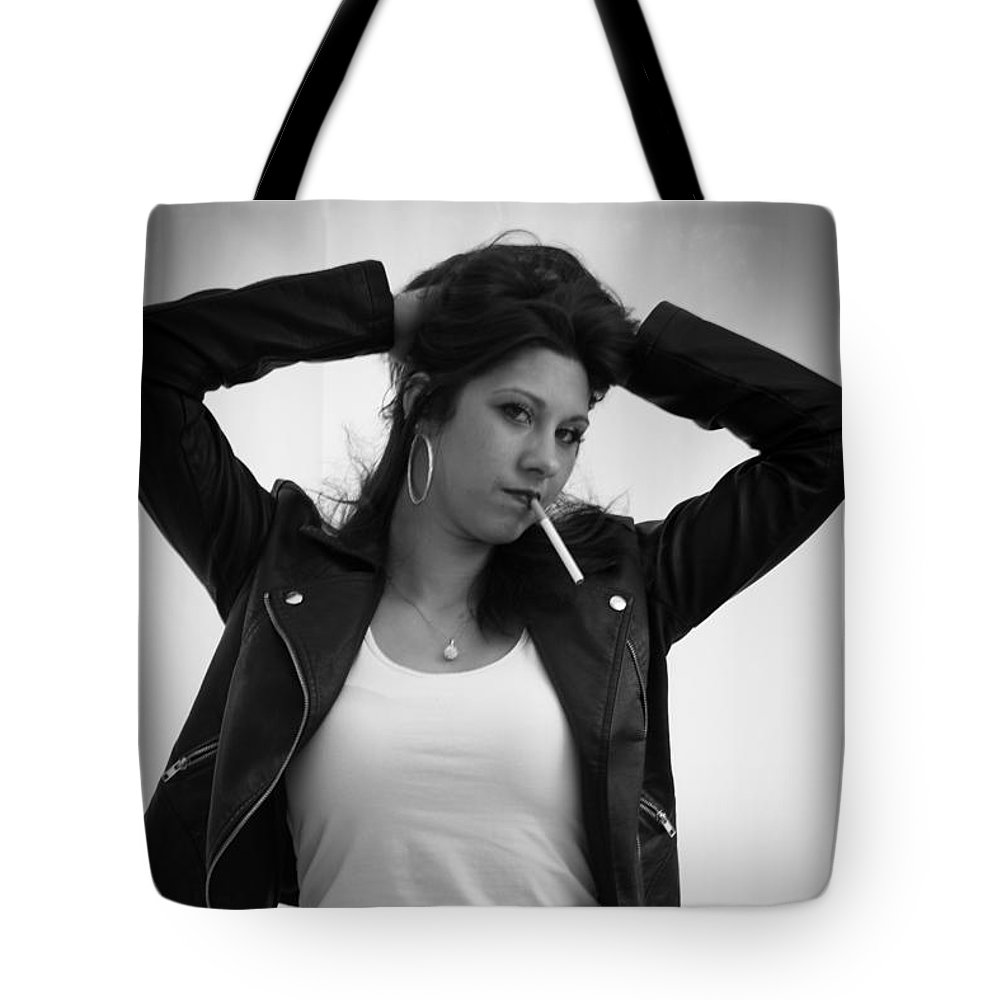 Grease Tote Bag featuring the photograph Grease Funky by Jason Shephard