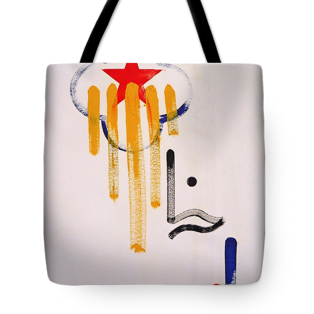 Drawing Tote Bag featuring the painting Great American Image by Charles Stuart