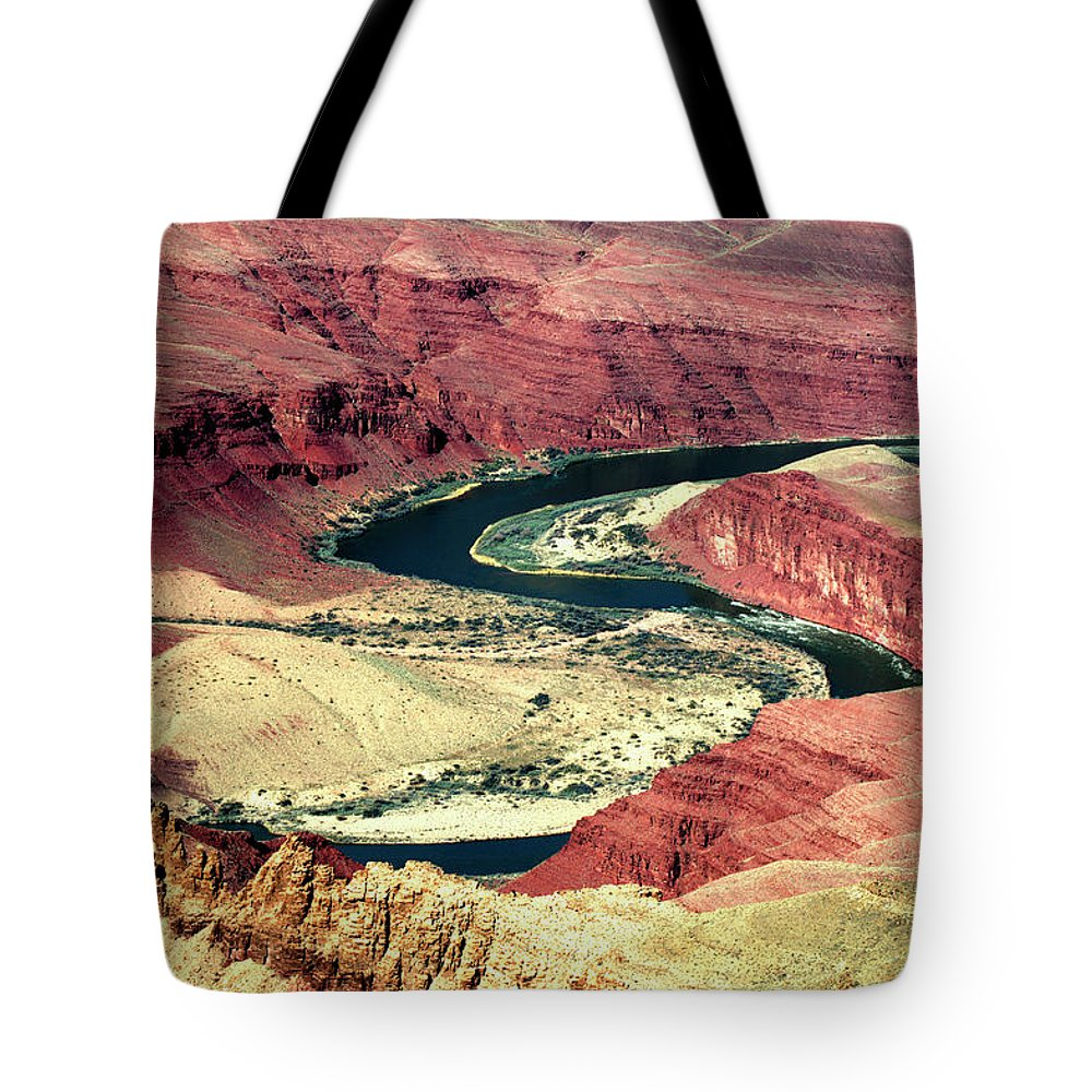 Grand Canyon Tote Bag featuring the photograph Great Color Colorado River by Paul Cannon