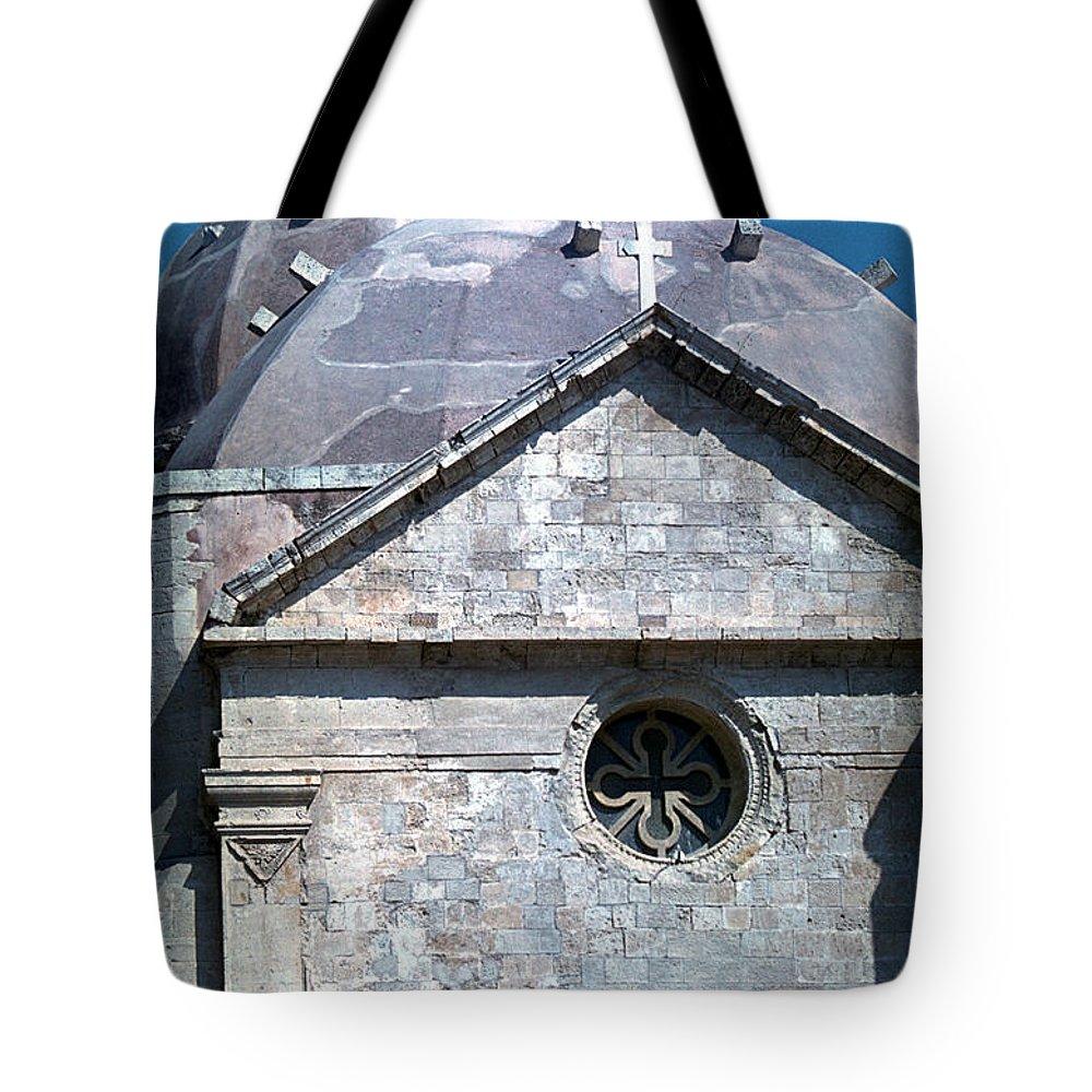Greek Orthodox Church Tote Bag featuring the photograph Greek Orthodox Church by Flavia Westerwelle