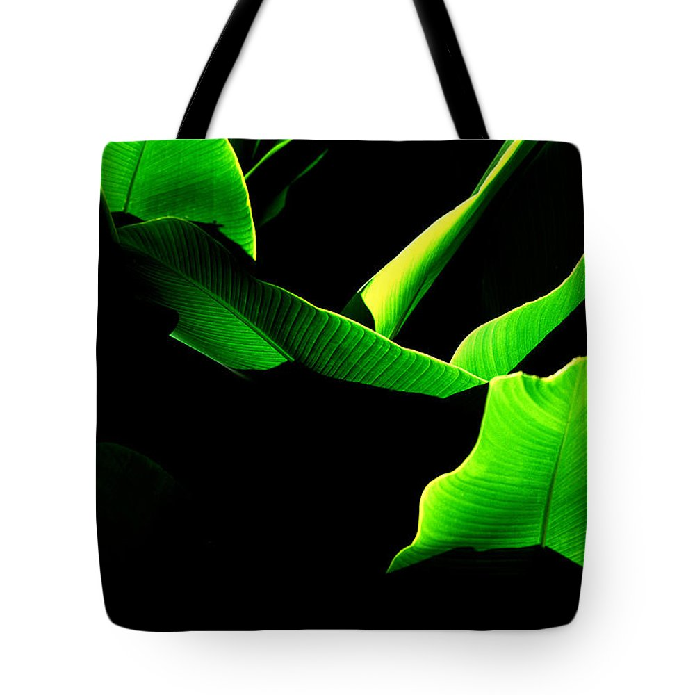 Green Tote Bag featuring the photograph Green Energy by Michael Mogensen