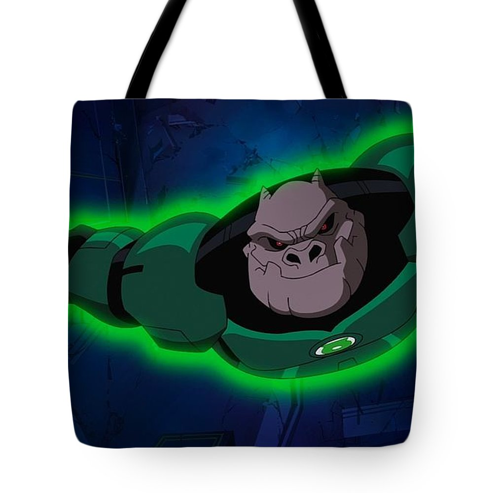 Green Lantern Corps Tote Bag featuring the digital art Green Lantern Corps by Super Lovely