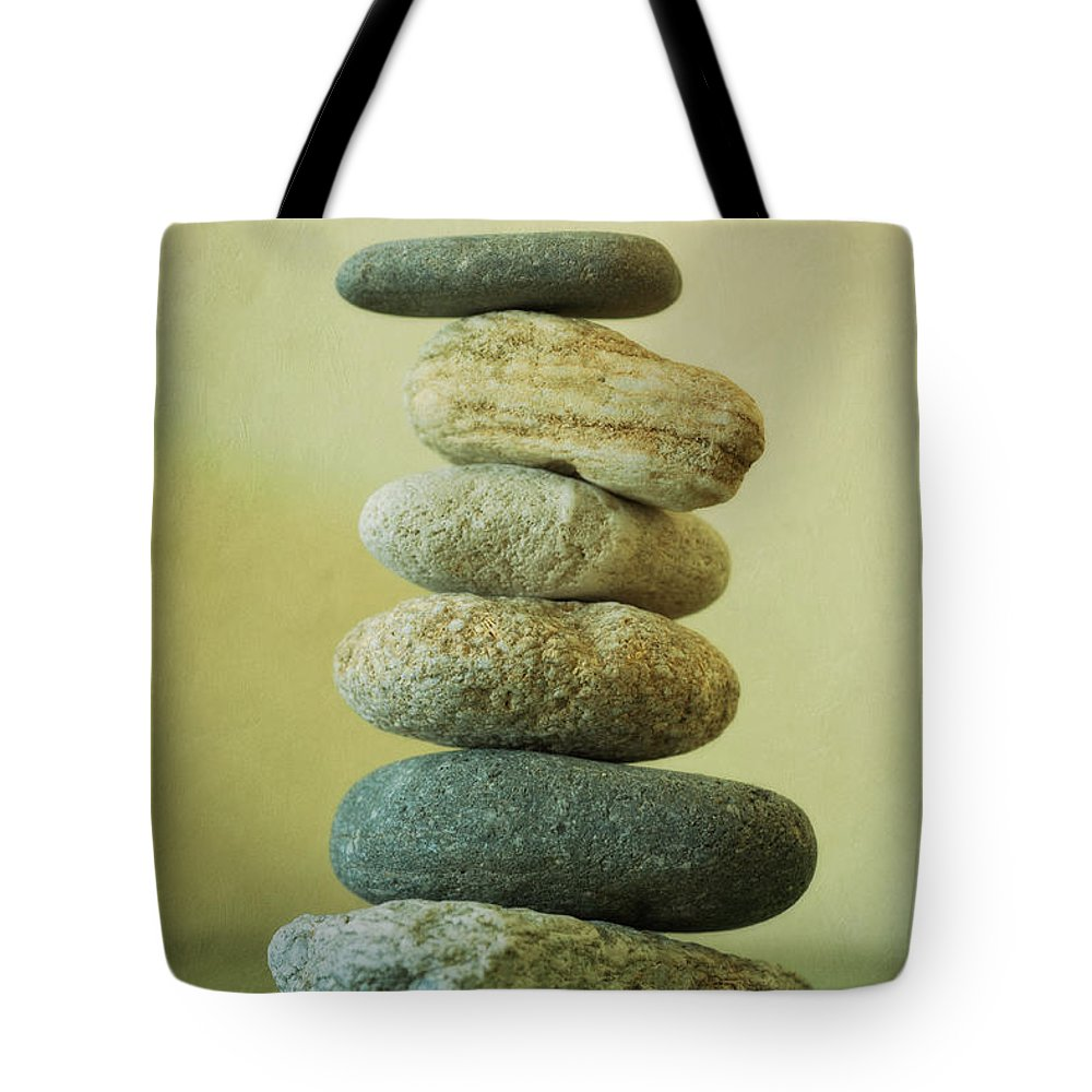 Balance Tote Bag featuring the photograph Green by Priska Wettstein